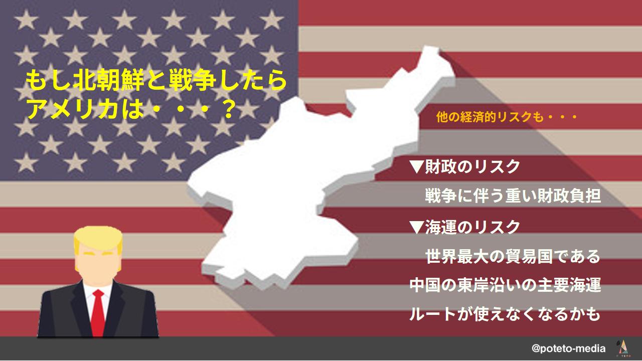 4 1 1 - 【国際政治×国際経済】北朝鮮との戦争で、世界経済は大打撃?