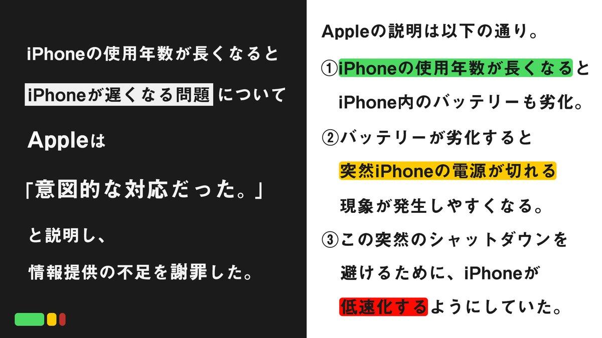 6 - iPhone 長く使うと遅くなる