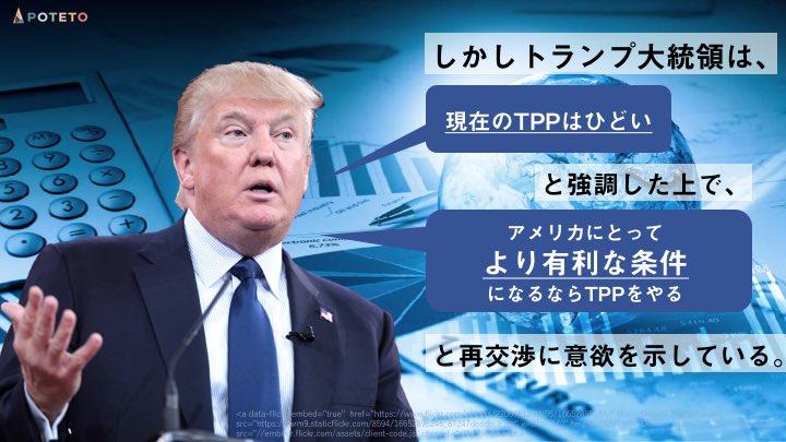 194 - アメリカ、TPPに再加入?