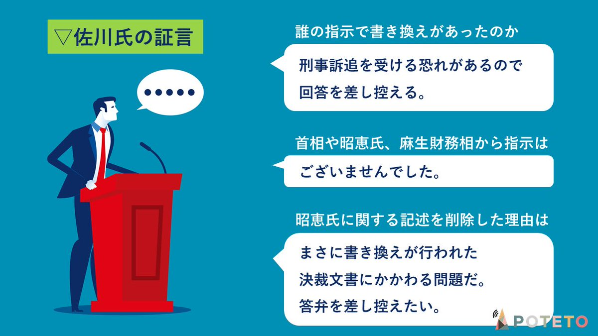 8 4 - 森友学園問題、佐川氏の回答とは