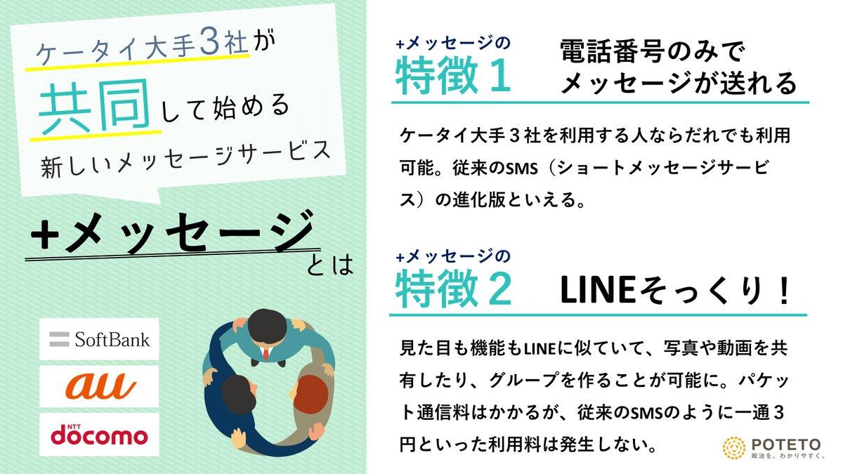 2 4 - ケータイ大手3社「対LINE」連携(加筆)