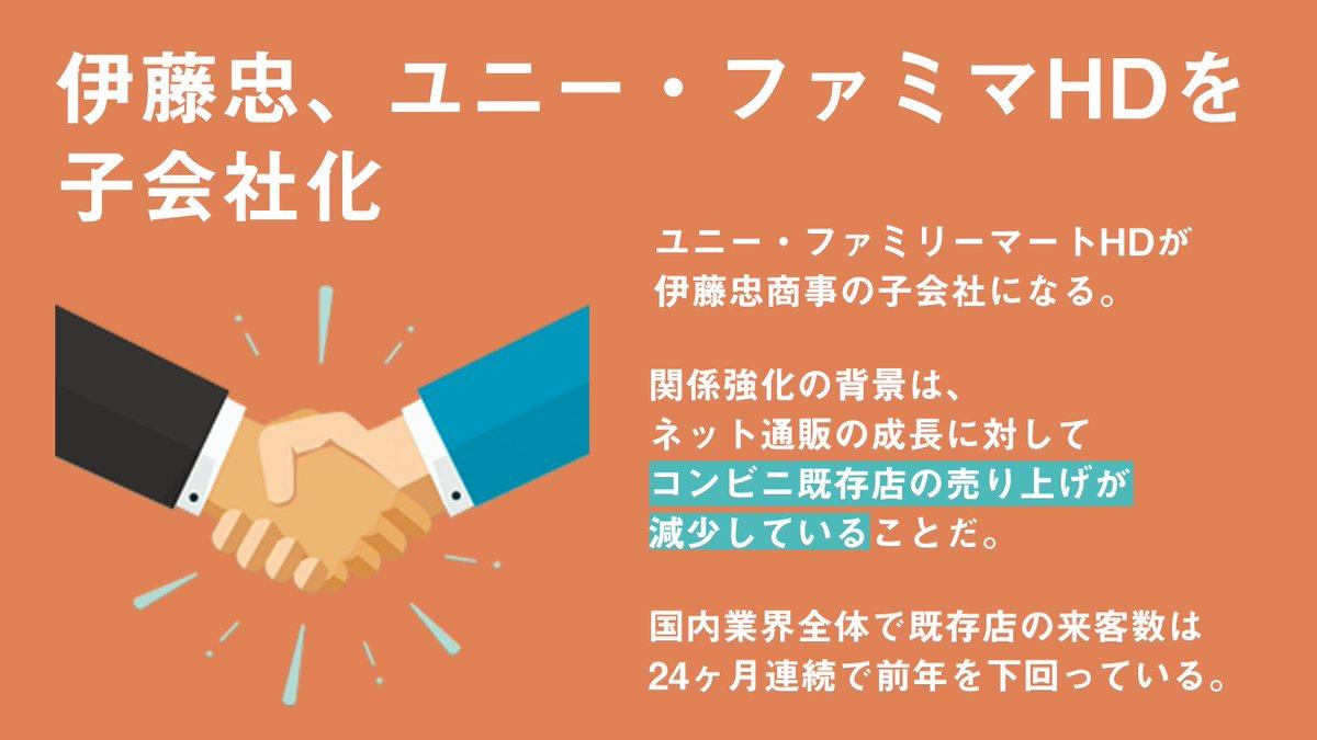 4221 - 伊藤忠、ファミマを完全子会社化