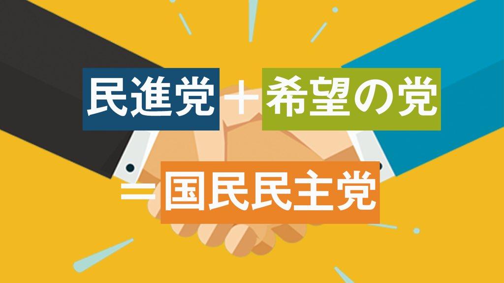 4291 - 希望+民進=「国民」?