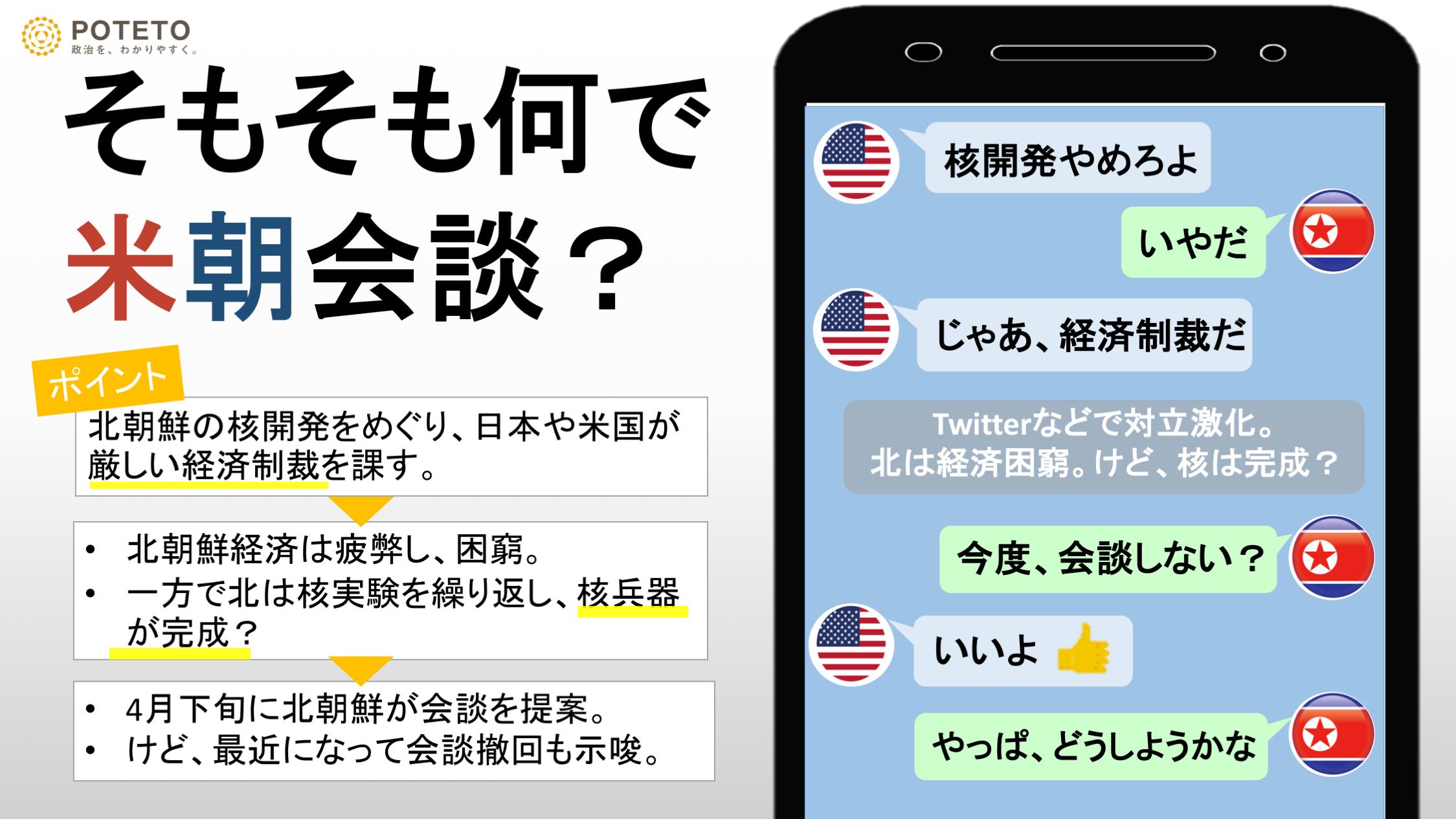 ee3be1d100caf1aa771552d59c2bd436 1 - 米国民の8割が米朝会談に賛成?<br>海外の反応、日本への影響は?