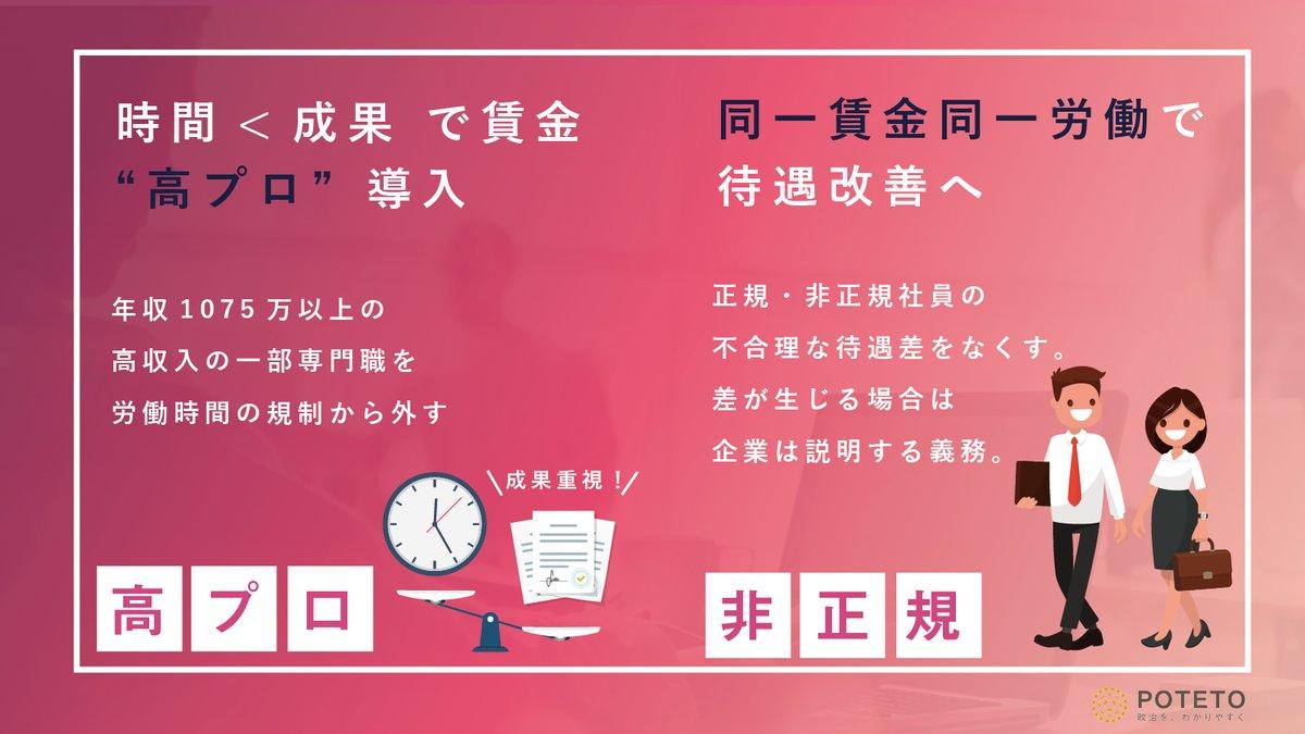 Dg REkxU0AAap1D - ついに成立、働き方改革法案