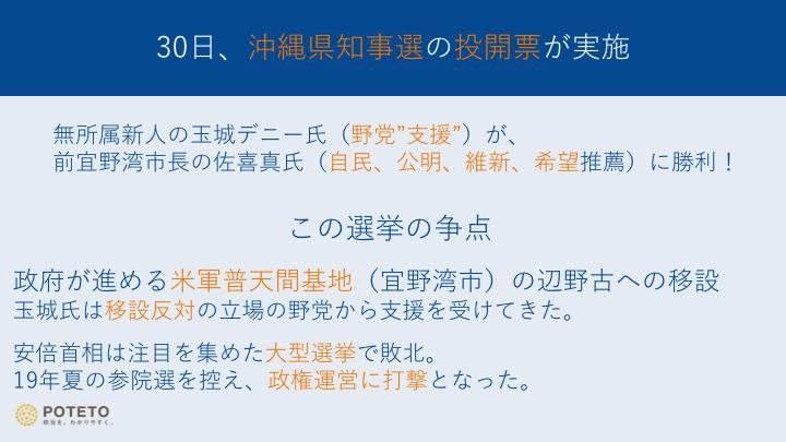 7fb8f1c748d490339c64aa37f2515920 - 沖縄県知事選、玉城氏に軍配