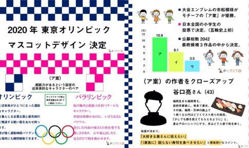 612f43071a2a0f44423b8bcb86c93e1a 486x290 - 東京オリンピックマスコット決定!