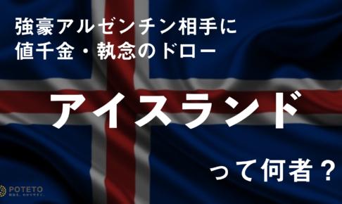 5621deba8a18b839c7a4321764bb05e8 1 486x290 - メッシを止めたGKは、元「クリエイター⁉︎」<br>少数精鋭・「ダークホース」アイスランドサッカーのユニークな実態とは?