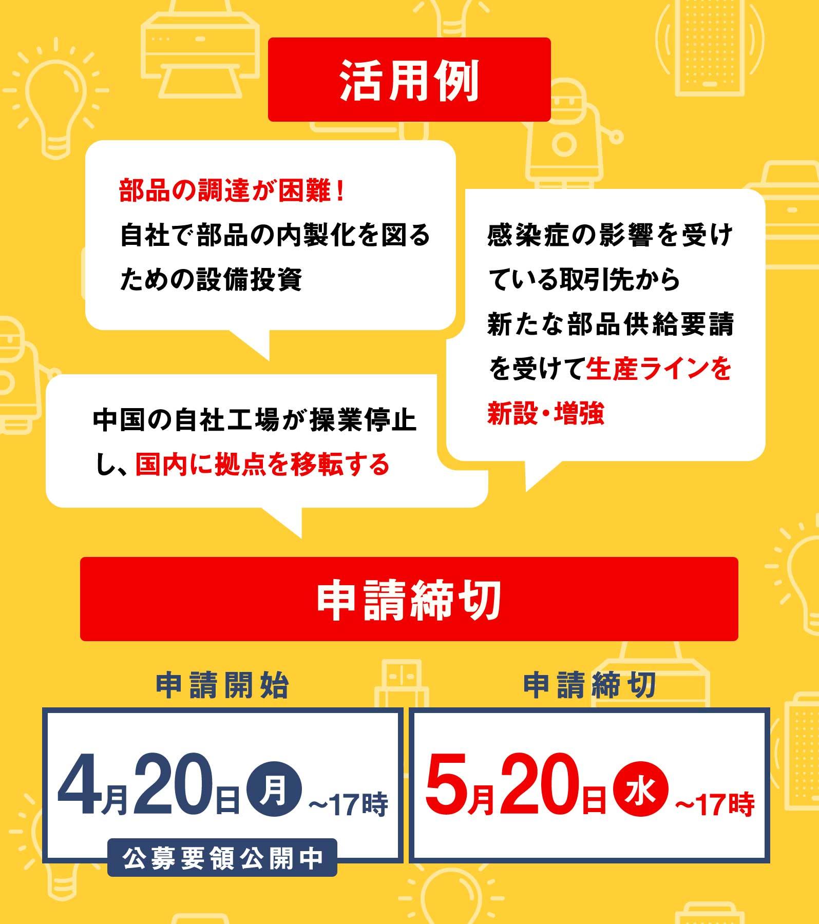 f9fde6e724de4a296d950ee0f1a27da1 - 【中小企業・小規模事業者向け】新製品・サービス開発のためのお金を補助します。